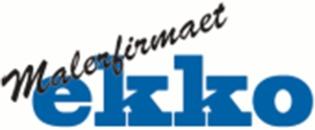 Malerfirmaet Ekko Auto og industri I/S logo