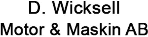 D. Wicksell Motor & Maskin AB logo