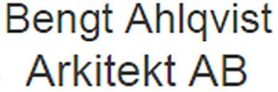 Bengt Ahlqvist Arkitekt AB logo