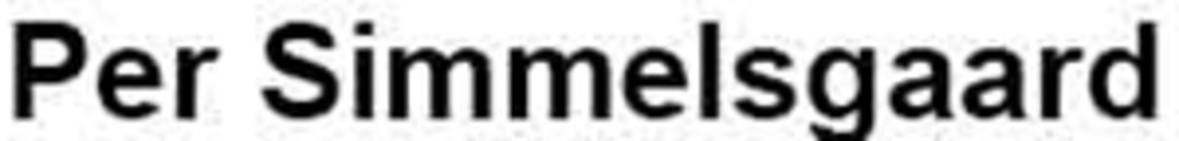 Per Simmelsgaard logo
