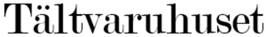 Tältvaruhuset logo