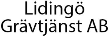 Lidingö Grävtjänst AB logo