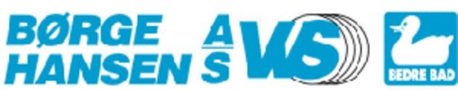 Børge Hansen  A/S VVS logo
