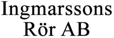 Ingmarssons Rör AB logo