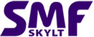 Svenska Maskinskyltfabriken, AB SMF-Skylt logo