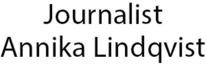 LINDQVIST, ANNIKA - Journalist logo