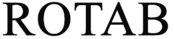 ROTAB, Ronny Olsson Transport AB logo