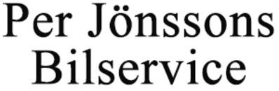 Per Jönssons Bilservice logo