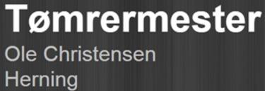 Tømrermester Ole Christensen ApS logo