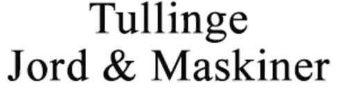 Tullinge Jord & Maskiner AB logo