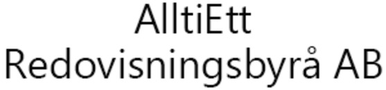 AlltiEtt Redovisningsbyrå AB logo