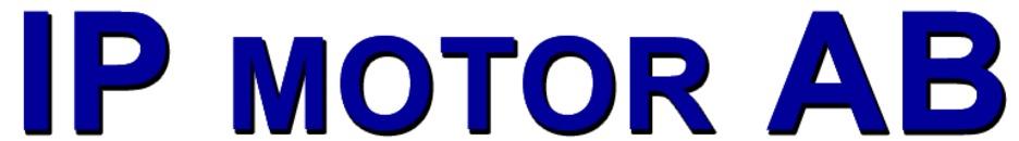 I P Motor AB logo