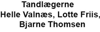 Tandlægerne Helle Valnæs, Lotte Friis, Bjarne Thomsen, Thomas Birkeland logo
