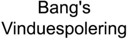 Bang's Vinduespolering logo