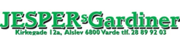 Jespers Gardiner logo