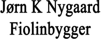 Jørn K Nygaard Fiolinbygger logo