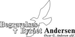 Begravelsesbyrået Andersen logo