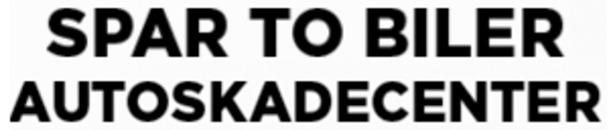 Spar To Biler Autoskadecenter logo
