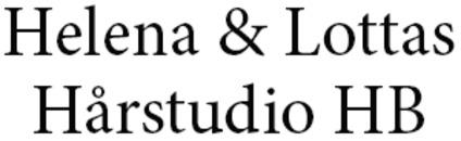 Helena & Lottas Hårstudio HB logo