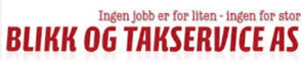 Blikk og Takservice AS logo