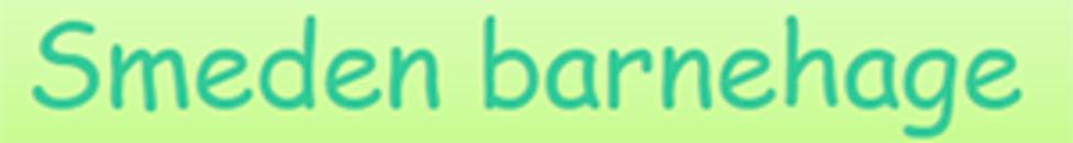 Smeden Barnehage logo