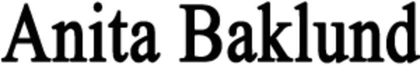 Anita Baklund logo