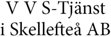 V V S-Tjänst i Skellefteå AB logo