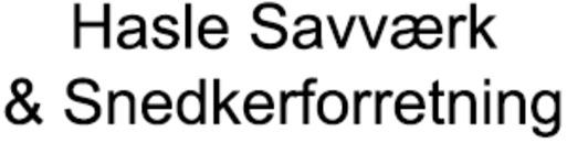 Hasle Savværk & Snedkerforretning logo