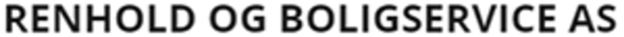 Renhold og Boligservice AS logo