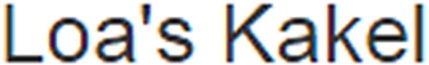 Loa's Kakel logo