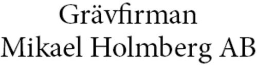 Grävfirman Mikael Holmberg AB logo