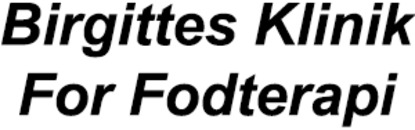 Birgittes Klinik For Fodterapi logo