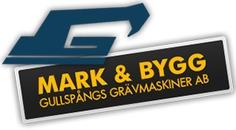 Mark och Bygg, Gullspångs Grävmaskiner AB logo