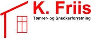 K.Friis tømrer og snedkerforretning logo