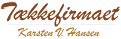 Tækkefirmaet Karsten V. Hansen ApS logo
