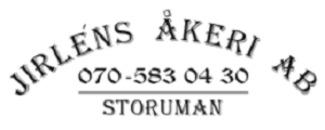 Jirléns Åkeri AB logo