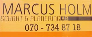 Marcus Holm Schakt & Planering AB logo