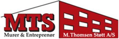 M. Thomsen Støtt Aalborg A/S logo