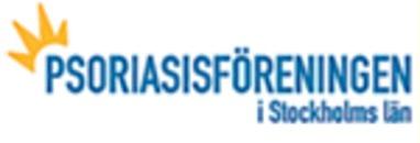 Psoriasisföreningen i Stockholms Län logo