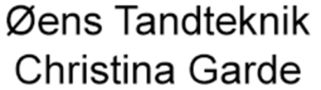 Øens Tandteknik Christina Garde logo