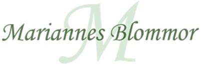 Mariannes Blommor logo