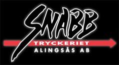 Snabbtryckeriet Alingsås AB logo