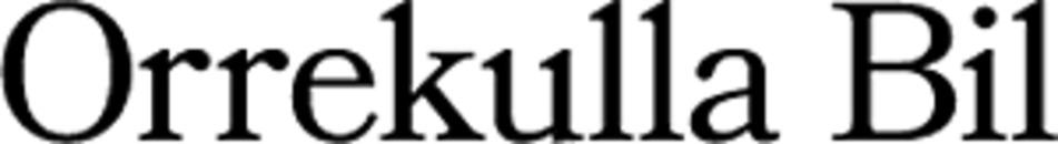 Orrekulla Bil logo