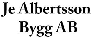 JE Albertsson Bygg AB logo