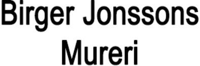 Jonssons Mureri, Birger logo