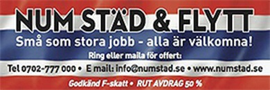 Num Städ & Flytt logo
