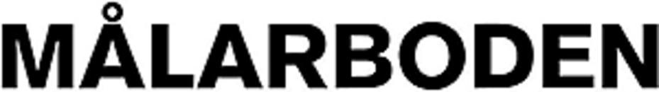 Målarboden AB logo