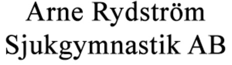 Arne Rydström Sjukgymnastik logo