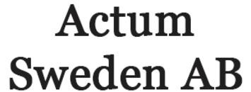 Actum Sweden AB logo