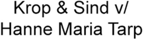 Krop & Sind v/ Hanne Maria Tarp logo